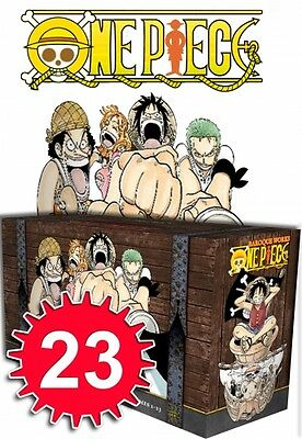 One Piece The Complete Collection Box Set 1-23 9781421560748 Manga Brand NEW PB