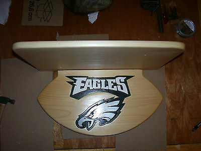 Eagles display shelf for helmets / footballs or other items