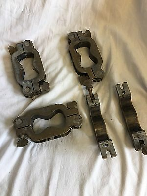 BRASS MOULDS/CLAMPS FOR USE IN CONCRETE TESTING ? 140mmL X70mmWX25mmD
