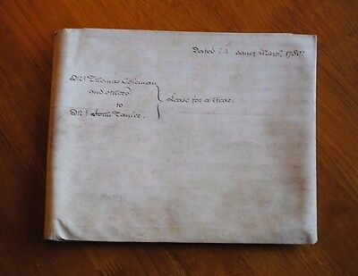 Beautiful Old English House Deeds Dated 1780 *unresearched*