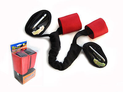 Transportation Tiedown Straps With Harness for Motorbike Trike - EXTRA STRONG