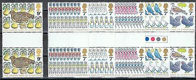Great Britain 821-826 MNH with labels Christmas 1977