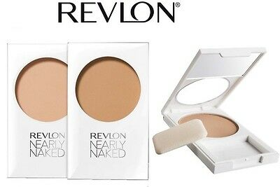 Revlon Nearly Naked Pressed Powder Foundation Compact Brand New **choose Shade**