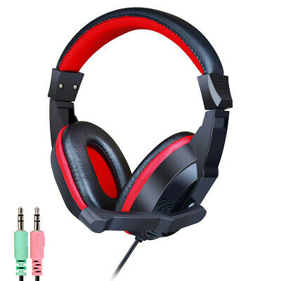 Dynamode DH-660-USB USB Stereo Black Headset Headphones For Skype PC Laptop