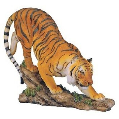 "8"" Bengal Tiger Statue Figurine Safari Wildlife Wild Cat Animal Figure Nature"