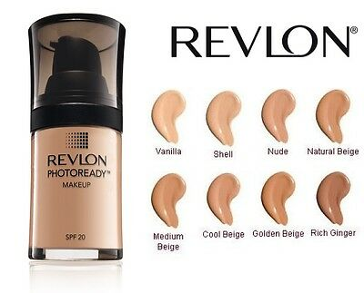 Revlon Photoready Makeup Liquid Foundation Airbrush Brand New **choose Shade**