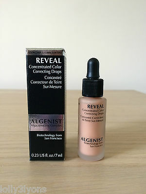ALGENIST Reveal Concentrated Colour Correcting Drops 7ml - Apricot *NEW* Travel