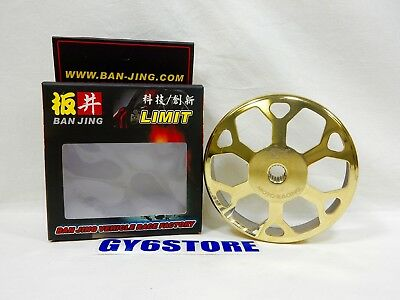BAN JING CLUTCH BELL / DRUM (SNOWFLAKE) (GOLD) FOR 150cc GY6 CHINESE SCOOTERS