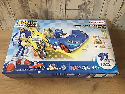 Meccano Sonic And Casino Street Playset - Construction Toys