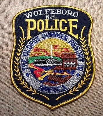 NH Wolfboro New Hampshire Police Patch
