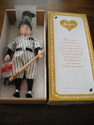Effanbee New York Yankees Babe Ruth Doll Mint In Box #7651