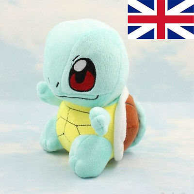 "7"" Pokemon Squirtle Plush Doll Stuffed Teddy  Soft Toys Tortoise Characters Toy"