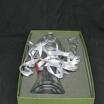 Christofle Crystal Decanter fluted pristine condition with tags