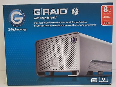 G-Technology G-Raid With Thunderbolt Dual Drive Storage System TB 0G02272