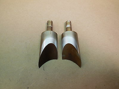 1988 Suzuki RM125 Power valves left & right cylinder main valve 2 pcs 88 RM 125