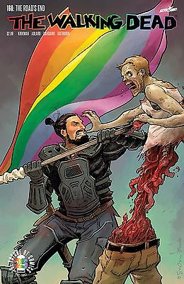 The Walking Dead #168 Cover B Pride Month Variant Cover (Mr) Image Comics 2017