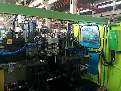 1600 KN High Speed Injection Molding Machine K-160V6 (1600-551)