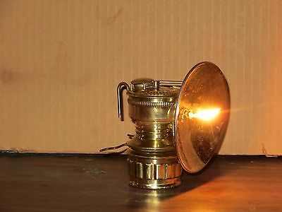 Restored Vintage Guys Dropper Carbide Lamp
