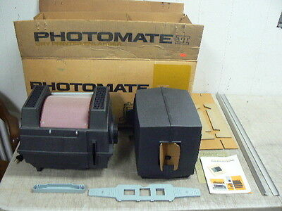 NOS PHOTOMATE II Photo Dry Printer-Enlarger-Editor, Makes B&W Prints up to 5x7