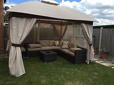 Bermuda Gazebo With Lights And Bluetooth Speakers 122 70 Picclick Uk