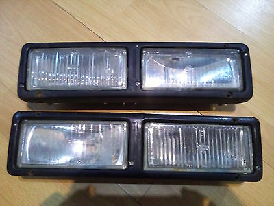 Fiesta Xr2i RS Turbo front bumper fog lights RS1800