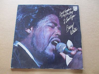 33 giri - Vinile - Barry White - Just Another Way to Say I Love You