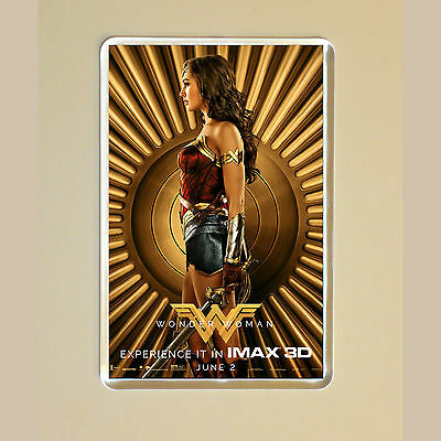 Wonder Woman - Gal Gadot - Chris Pine - Movie Poster Photo Fridge Magnet #6