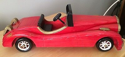 Vintage wood collectable car