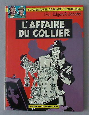 Jacobs  BLAKE ET MORTIMER   **  L'AFFAIRE DU COLLIER   **  1968  TTBE+