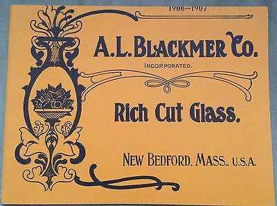 Blackmer American Cut Engraved Glass catalog book 1982 edition