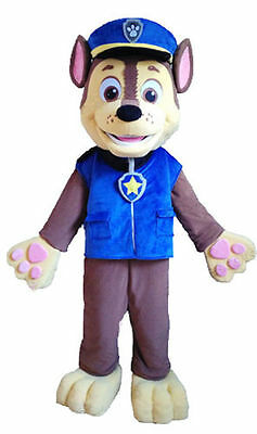 Paw Patrol Chase Mascot Hire - London Collection or UK Delivery