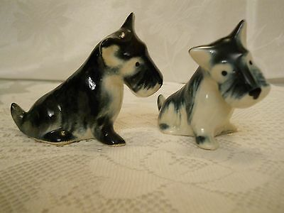 Vintage Scotty Dog Figurines - Set of 2