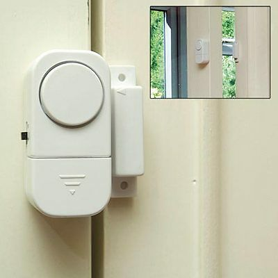 Magnetic Door and Window Open Alarm - Pack of 3