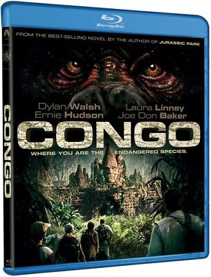 Congo [New Blu-ray] Ac-3/Dolby Digital, Dolby, Digital Theater System, Dubbed,