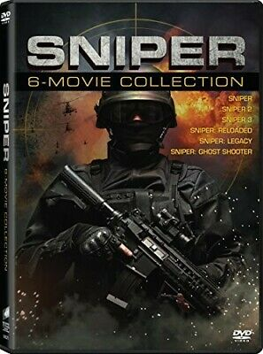 Sniper: 6-Movie Collection [New DVD] Ac-3/Dolby Digital, Dolby, Subtitled, Wid