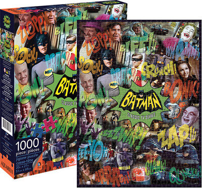 Batman Classic Tv Series 1000 Pc Jigsaw Puzzle Toy