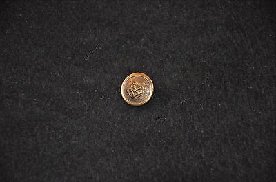 WWI Prussian Army Uniform Epaulet Button; Unmarked