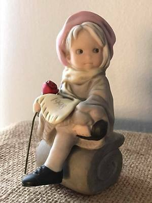 Enesco Kim Anderson Pretty As A Picture 1998 Take Time Out For The Holidays