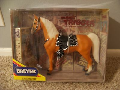 Breyer Horse Roy Rogers Trigger #758 Hollywood Horse Series in Box w/ VHS in box