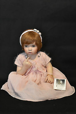 Gloria Vanderbilt! Porcelain Doll! Gloria As A Baby! Limited Edition #273/800!