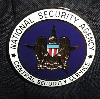 US Army National Security Agency NSA Central Security Service CSS Pin Badge NIP
