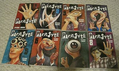 Parasyte by Hitoshi Iwaaki complete set vols 1-8 shounen manga English