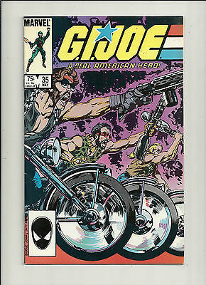 GI Joe  #35  VF+