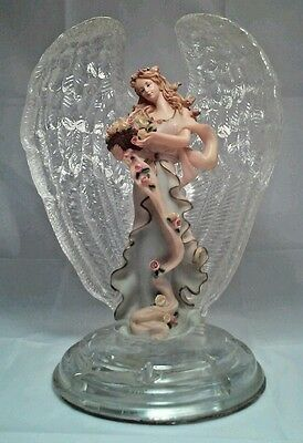 Bradford Exchange  Angel of Hope Heaven's Crystal Blessings Collection C07047