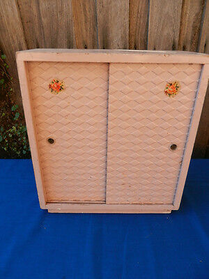 DOLLS' Vintage Wooden WARDROBE
