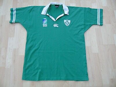 Ireland 2003 Rugby World Cup Shirt /jersey/maillot-Very Rare- Look!!