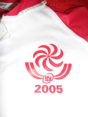 World Cup 2005 Georgia Match Worn Large Rugby Union Shirt/jersey/maillot -Look!!