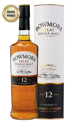 Bowmore 12YO Islay Scotch Whisky 700ml(Boxed)