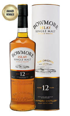 Bowmore Islay 12YO Scotch Whisky 700ml (Boxed)