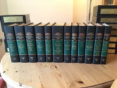 SET OF 12 Volumes The New Interpreter's Bible Commentary Study Book Collection